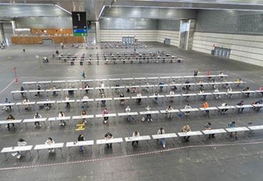 El BEC organiza con éxito su primera convocatoria con miles de personas