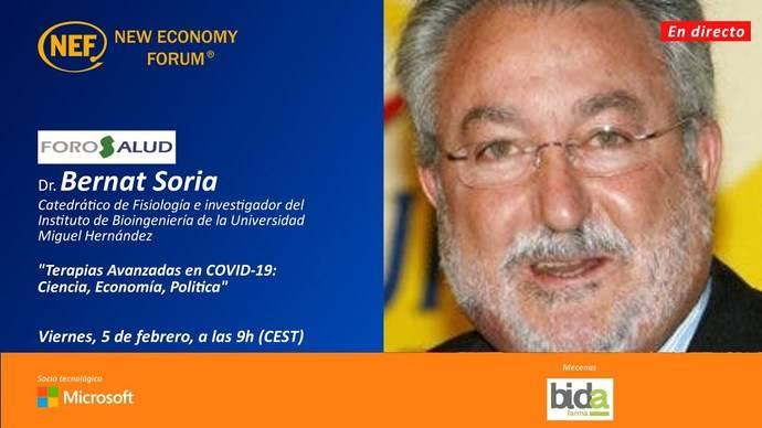 Foro Salud, con el exministro Bernat Soria