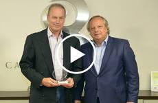 Bertín Osborne recibe el Premio 'Q' de Calidad Turística