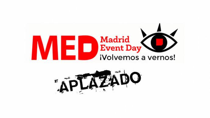 Aplazado el MED (Madrid Event Day) hasta nuevo aviso