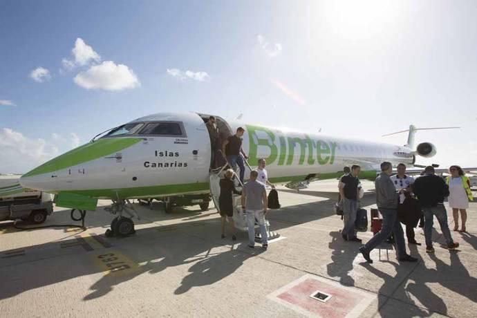 Binter impulsa la recuperación de Canarias