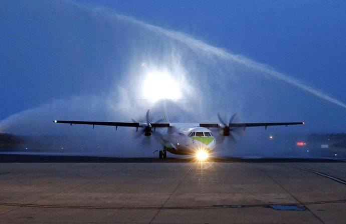 Binter opera vuelos regulares internos en Cabo Verde
