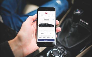 Bipi ofrece un servicio de 'rent a car' con tarifa plana