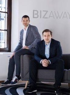 Flavio Del Bianco y Luca Carlucci, fundadores de la compañía.