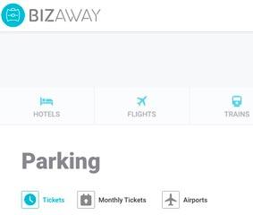 BizAway incluye la oferta de parkings 'online' de Parclick