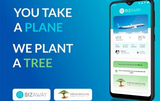 BizAway anuncia una iniciatiava en el Día de la Tierra