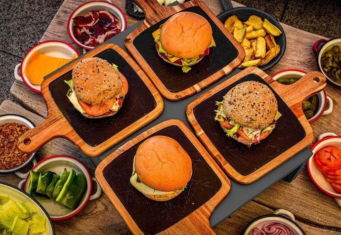 Vincci The Mint presenta sus hamburguesas DIY
