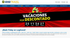 Página web de Logitravel.