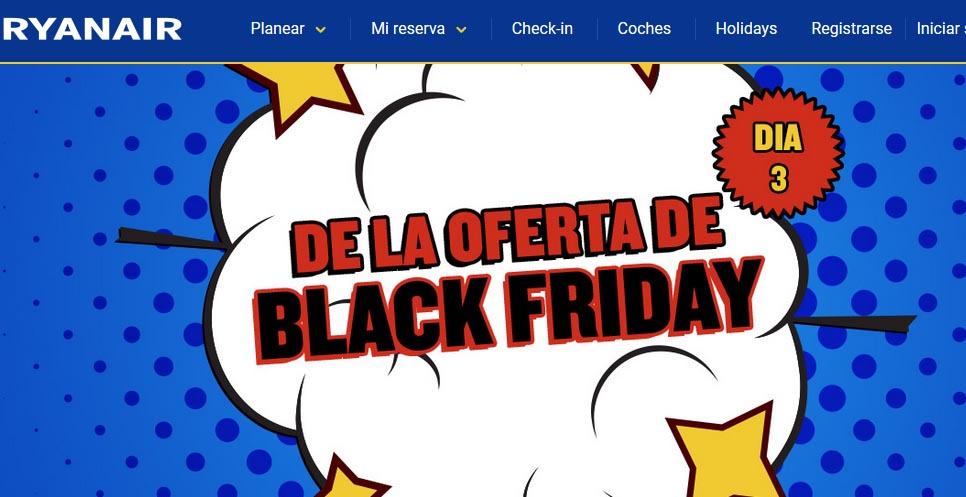 Los viajes ocupan la tercera posición en el Black Friday