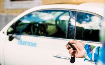 Bluemove ofrece dos vehículos en el sur de Madrid