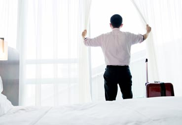Una cama cómoda y una buena conexión Wi-Fi, imprescindibles en el 'corporate'