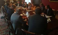 Reyes Maroto ha mantenido diversas reuniones durante su viaje oficial.