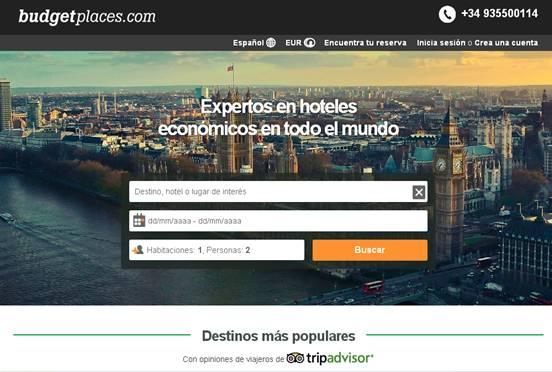eDreams adquiere la 'web' de reservas budgetplaces.com