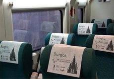 Burgos realiza en Renfe una nueva acción promocional