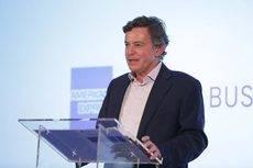 Luis Dupuy de Lôme, director general de American Express Global Business Travel España, durante la presentación del Barómetro.