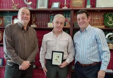 El Grupo NEXO reconoce el trabajo de Manuel Butler