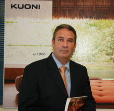 El consejero delegado de Kuoni España, Carlos López.