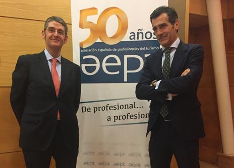 Chaguaceda asiste a la asamblea de 50 aniversario de AEPT