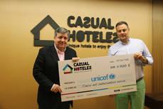 Casual Hoteles recauda 5.700 euros para Unicef