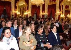Los asistentes a la presentación del Plan de Acción del Patronato Provincial de Turismo de Cádiz.