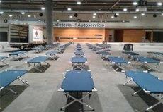 Madrid habilita Ifema para 150 personas sin hogar