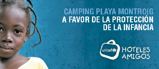 Camping Montroig recauda 8.560 euros para Unicef