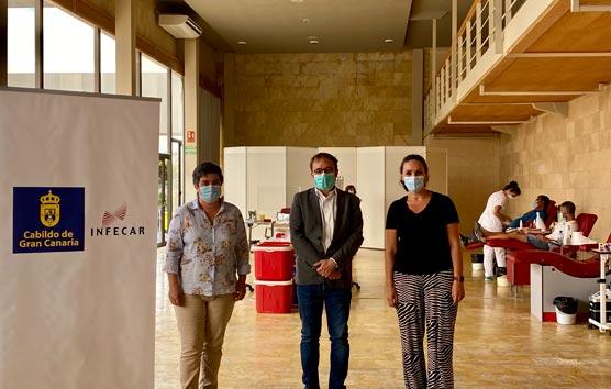 Donan sangre en el Palacio de Congresos de Gran Canaria