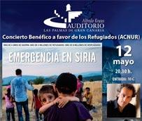 La Fundación Auditorio y Teatro colabora con 'Emergencia en Siria' de ACNUR