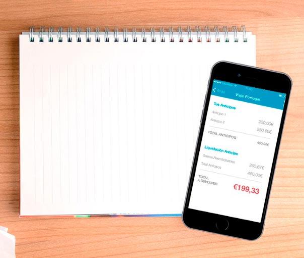 Captio actualiza su 'app' para controlar el gasto en viajes