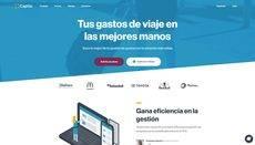 La nueva página 'web' de Captio.