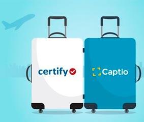 Captio se integra en el proveedor global Certify