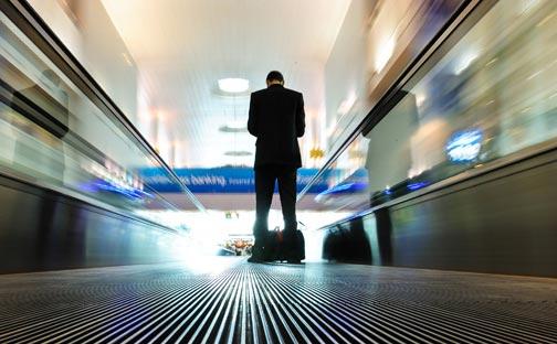 Los viajes de negocios afectan a la vida personal de los profesionales