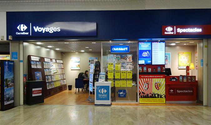 Carrefour Voyages mantiene intacta su red de agencias con 158 puntos de venta