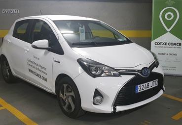 Ubeeqo potencia el 'carsharing' en Barcelona
