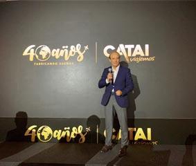Catai celebra sus 40 años en el Sector Turístico
