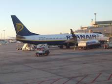Los trabajadores de Ryanair realizaron paros durante el mes de junio.