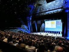Uno de los congresos celebrados en el CCIB el año pasado.