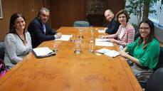 Ha sido la primera toma de contacto entre CEAV y el nuevo Gobierno.