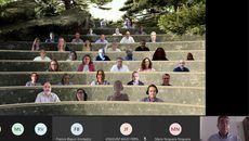 Imagen del encuentro virtual.
