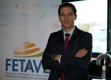 El presidente de Fetave, Cesar Gutiérrez.