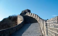 Tramos de la Gran Muralla China permanecen cerrados.