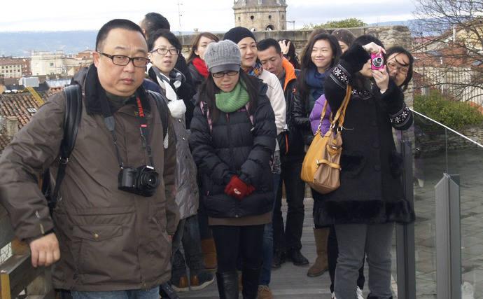 Cambio en el comportamiento de los turistas chinos