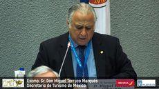El ministro de Turismo de México, Miguel Torruco.