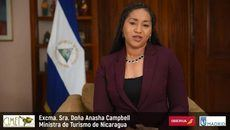La ministra de Turismo de Nicaragua, Anasha Campbell.