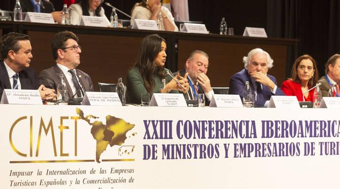 Villacís revela en CIMET que Madrid será sede del primer Foro Mundial del Turismo