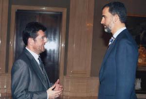 El Rey Felipe VI será presidente de honor de CIMET 2018