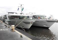 Algunos de los cruceros visitados.