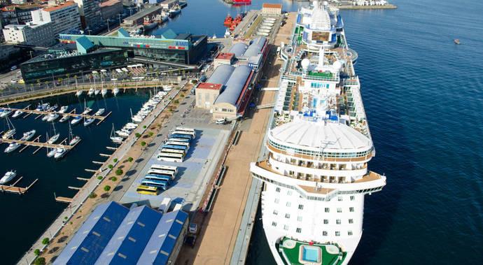 El mercado español se recupera y llega a los 466.000 pasajeros de cruceros en 2015