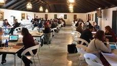 Las reuniones de trabajo durante el Iberian MICE Forum.