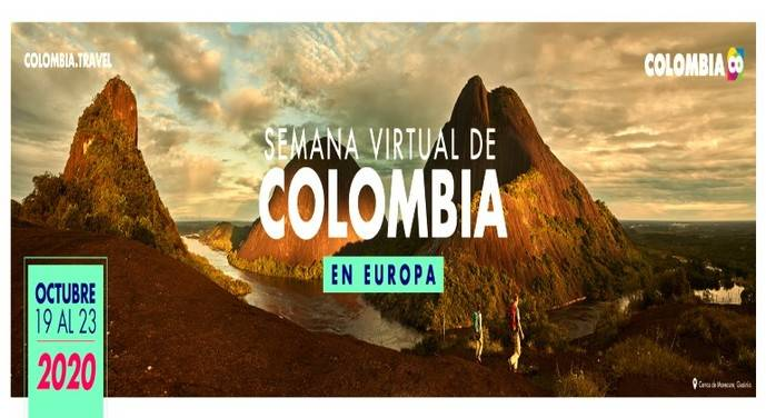 Semana Virtual de Colombia en Europa hasta el 23/10